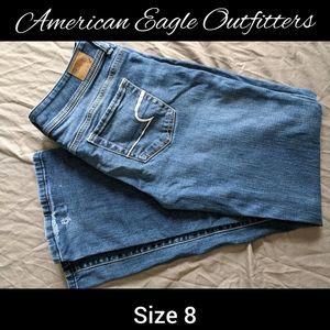 AEO jeans size 8 ~EUC~